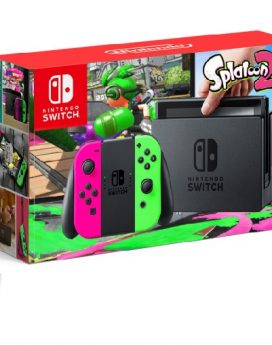 Nintendo Switch crveno plavi+ Splatoon 2
