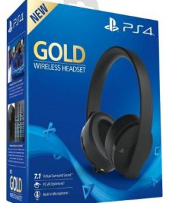 PS4 Sony Wireless Headset Gold