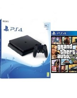 PS4 500GB+GTA5