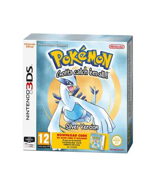 Nintendo 3DS Pokemon Silver Packaged Download Code