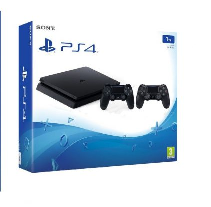 PS4 1TB Slim + Joypad infomark