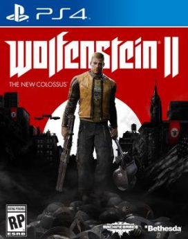 PS4 Wolfenstein 2: The New Colossus