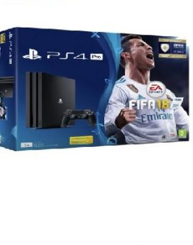 PS4 Sony Playstation 4 PRO 1TB+FIFA18