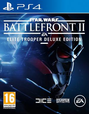 PS4 Star Wars Battlefront 2 Elite Trooper Deluxe Edition
