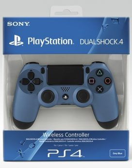 PS4 Sony Dualshock Controller Black&Blue (Uncharted 4 edt)