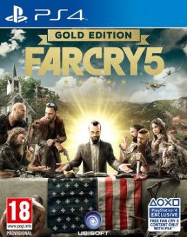 PS4 Far Cry 5 Gold Edition