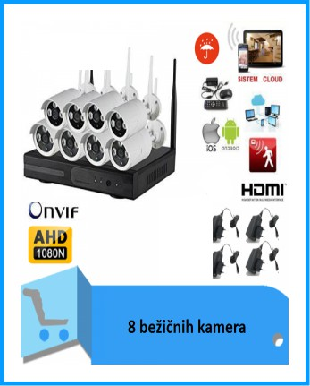 videonadzor 8 wireless kamera infomark.hr