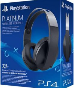 PS4 Sony Platinum Headset