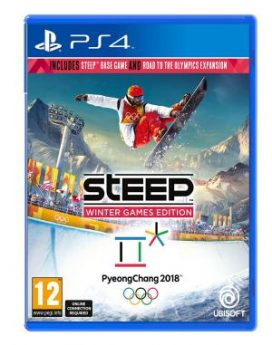 PS4 Steep Road To The Olympics