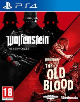PS4 Wolfenstein The New Order + The Old Blood Double Pack