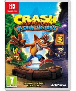 Nintendo Switch Crash Bandicoot