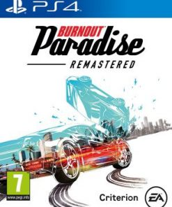 PS4 Burnout Paradise Remastered infomark
