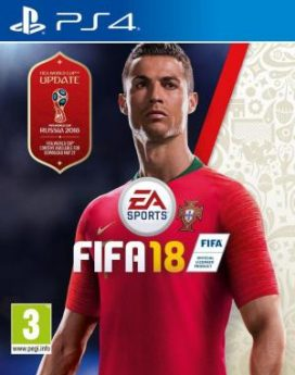 PS4 Fifa 18 with update infomark.hr