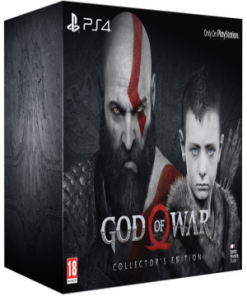 PS4 God Of War Collector's Edition infomnark