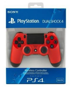 PS4 Sony Dualshock V2 Magma Red Controller