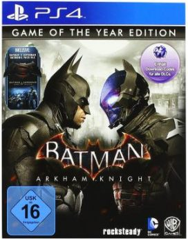 PS4 Batman Arkham Knight Game Of The Year Edt