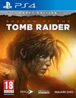 PS4 Shadow of the Tomb Raider Croft Edition