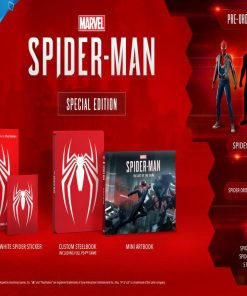 PS4 Spiderman Special Edition