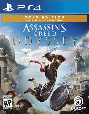 PS4 Assassin's Creed Odyssey Gold Edition