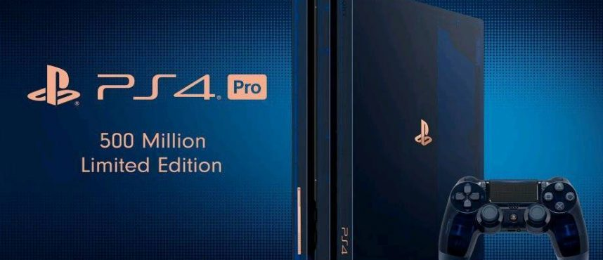 PS4 Pro 2 TB 500 Million Limited Edition