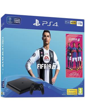 PlayStation 4 1TB Slim+FIFA 19+14 Days PS Plus