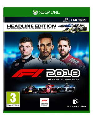XBOX1 F1 2018 Headline Edition