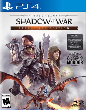 PS4 Middle-earth Shadow of War Definitive Edition