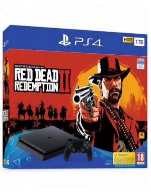 PS4 Sony PlayStation 4 1TB Slim + Red Dead Redemption 2