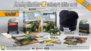 PC Farming Simulator 19 Collectors Edition content