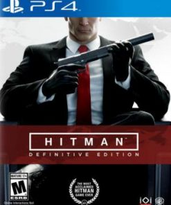 PS4 Hitman: Definitive Edition Steelbook D1