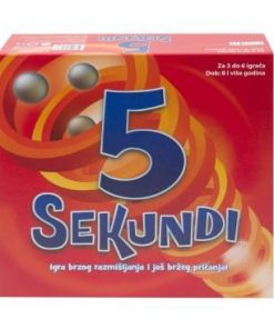 Društvena igra 5 SEKUNDI
