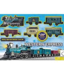 GOLDLOK vlak na baterije Western Express