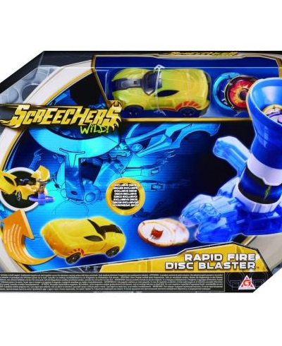 Igračka Igračka Screechers Wild - Rapid Fire Disc Blaster