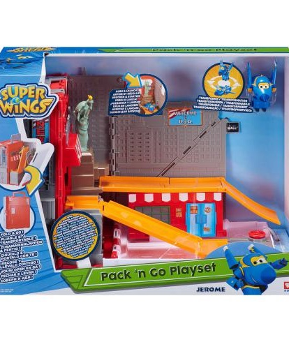 Igračka Super Wings New York City Playset - Jerome