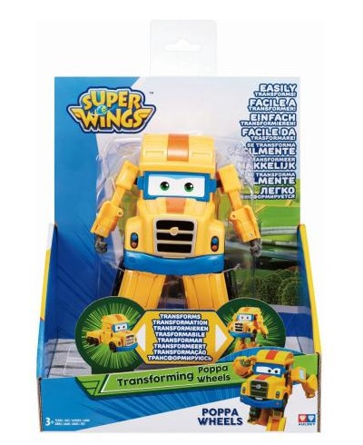 Igračka Super Wings S2 Transforming Poppa Wheel