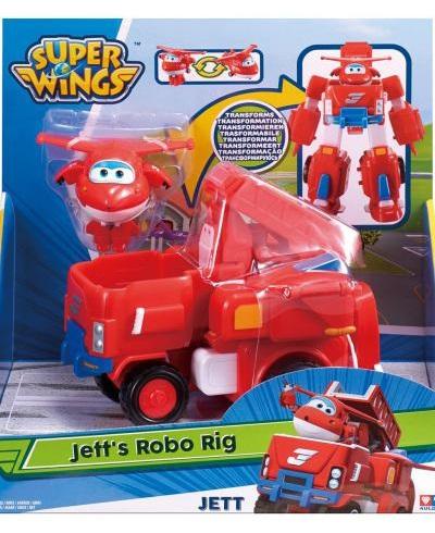 Igračka Super Wings S2 Transforming Vehicle Jett