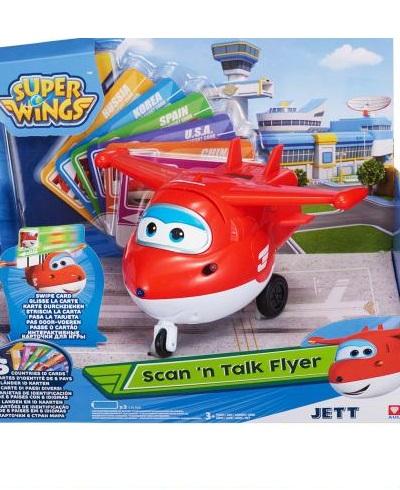Igračka Super Wings Scan & Talk Flyer Jett