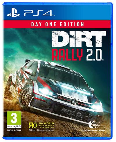 PS4 Dirt Rally 2.0 (D1 Edition)