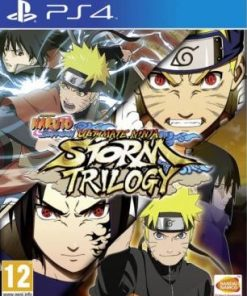 PS4 Naruto Ultimate Ninja Storm Trilogy