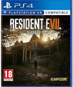 PS4 Resident Evil Biohazard