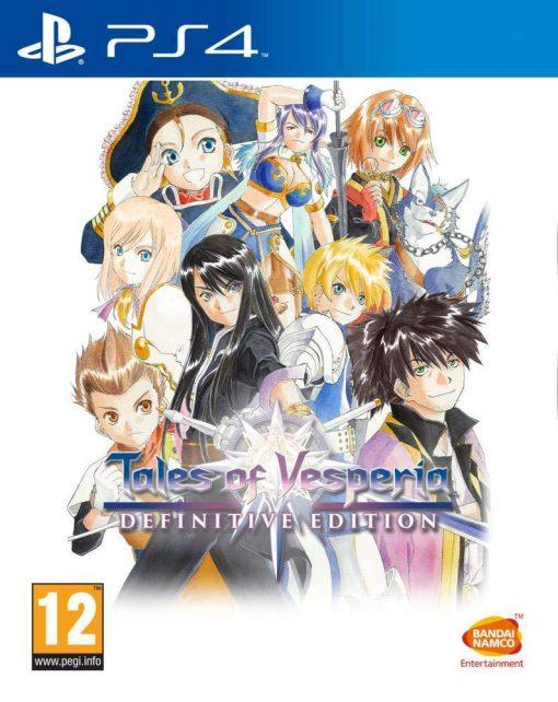 PS4 Tales Of Vesperia Definitive Edition