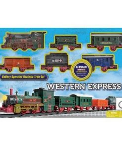Vlak na baterije WESTERN EXPRESS