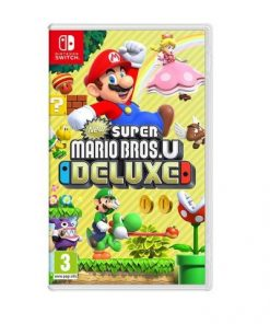 Nintedo Switch New Super Mario Bros. U Deluxe