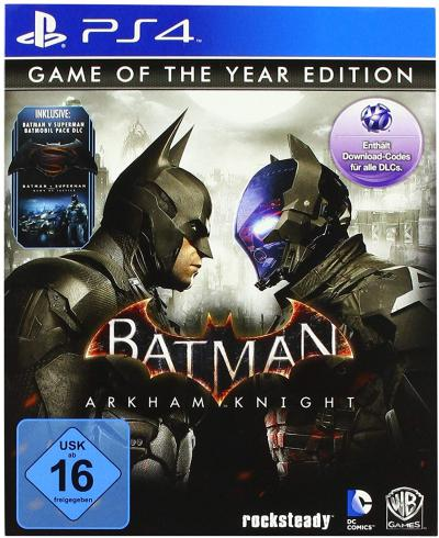 PS4 Batman Arkham Knight Game Of The Year