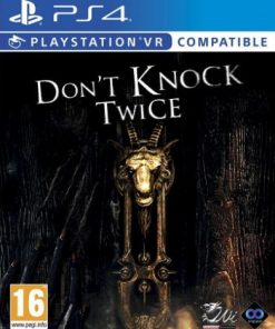 PS4 VR Don't Knock Twice