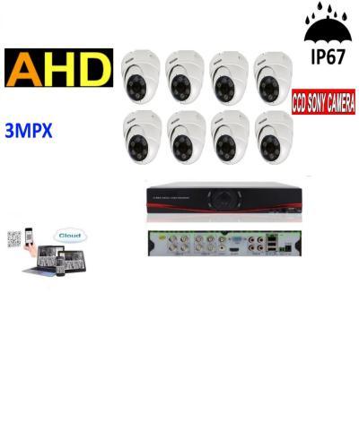 Video Nadzor 8 dome kamera