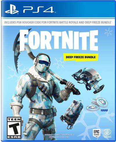 PS4 Fortnite Deep Freeze