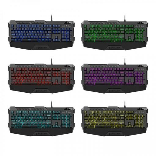 SHARKOON TIPKOVNICA SKILLER SGK4 USB RGB LED