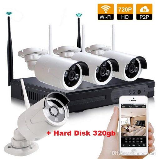 video nadzor 320 gb hard wifi