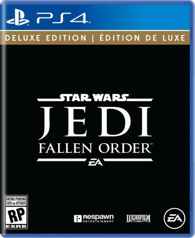PS4 Star Wars Jedi Fallen Order Deluxe Edition